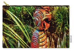 A Maori God In New Zealand Carry-all Pouch