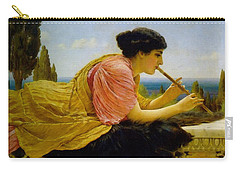A Melody  Carry-all Pouch by John William Godward