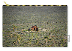 A Miner's Shack Carry-all Pouch by Nature Macabre Photography