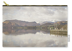 Carry-all Pouch featuring the photograph A Misty Ullswater by RKAB Works