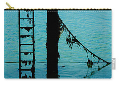 Carry-all Pouch featuring the photograph A Modicum Of Maritime Minimalism by Chris Lord