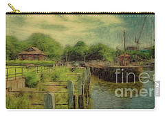 A Morning At Teddington Lock Carry-all Pouch