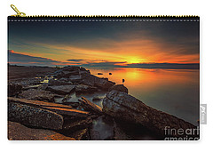 A Morning On The Rocks Carry-all Pouch