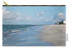 A Morning Walk On Fort Myers Beach Fort Myers Florida Carry-all Pouch
