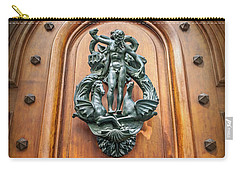 A Most Unusual Door Knocker In Geneva Old Town  Carry-all Pouch