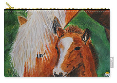 A Mothers Love Carry-all Pouch by Leslie Allen