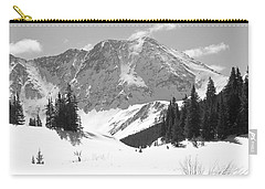 Carry-all Pouch featuring the photograph A Mountain Is A Buddha by Eric Glaser