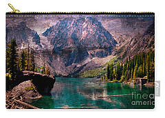A Mountain Lake And Scenery Carry-all Pouch