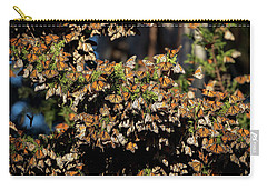 A Multitude Of Monarchs Carry-all Pouch