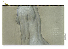 A Naiad In The Lament For Icarus Carry-all Pouch