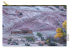 Carry-all Pouch featuring the photograph A Natural Abstract by John M Bailey