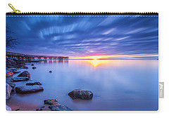 Carry-all Pouch featuring the photograph A New Dawn by Edward Kreis