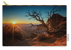 A New Day Dawns Carry-all Pouch by Kristal Kraft