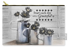 Carry-all Pouch featuring the photograph A New Day by Robin-Lee Vieira