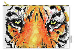 A Nice Tiger Carry-all Pouch by Terry Banderas