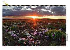 A Nuttalls Linanthastrum Morning Carry-all Pouch by Leland D Howard
