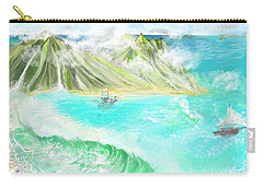 A Ocean Some Where Carry-all Pouch