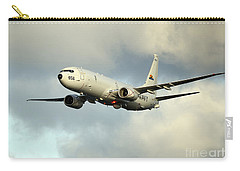 A P-8a Poseidon In Flight Carry-all Pouch