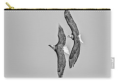 A Pair Of American Bald Eagles 2017-1 Carry-all Pouch