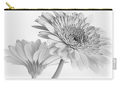 A Pair Of Daisies Carry-all Pouch by David and Carol Kelly