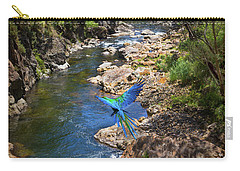 A Parrot In A New Zealand Gorge Carry-all Pouch