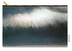 Carry-all Pouch featuring the photograph A Patch Of Fog by Shane Bechler