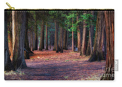 A Path Of Redwoods Carry-all Pouch