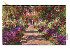 A Pathway In Monets Garden Giverny Carry-all Pouch