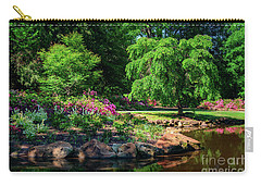 A Peaceful Feeling At The Azalea Pond Carry-all Pouch