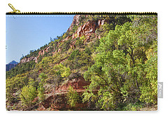 Carry-all Pouch featuring the photograph A Peaceful Zion by John M Bailey