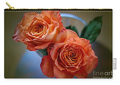 Carry-all Pouch featuring the photograph A Peach Delight by Diana Mary Sharpton