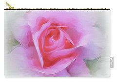 A Perfect Pink Rose Carry-all Pouch