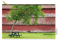 Carry-all Pouch featuring the photograph A Picnic For You And Me by Corinne Rhode