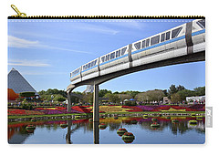 Carry-all Pouch featuring the photograph A Picture Perfect Florida Day by Carol Bradley