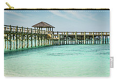 A Pier In The Bahamas Carry-all Pouch