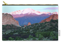 A Pikes Peak Sunrise Carry-all Pouch