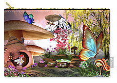 A Pixie Garden Carry-all Pouch