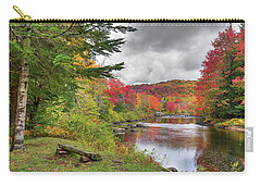 A Place To View Autumn Carry-all Pouch by David Patterson