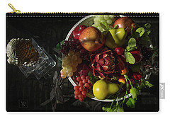 A Plate Of Fruits Carry-all Pouch