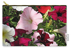 A Plethora Of Petunias Carry-all Pouch