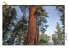 Carry-all Pouch featuring the photograph A Poem Lovely As A Tree.   by Phil Abrams