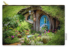 A Pretty Hobbit Hole Carry-all Pouch