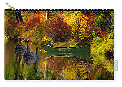 Carry-all Pouch featuring the photograph A Quiet Autumn Evening by Diane Schuster