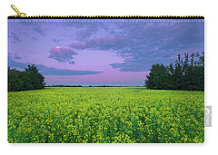 A Quiet Evening In Alberta Carry-all Pouch