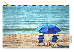 Carry-all Pouch featuring the photograph A Quiet Place In Spring Lake by Kristia Adams