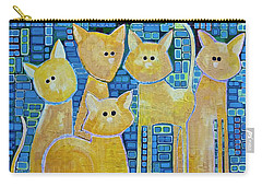 A Quorum Of Cats Carry-all Pouch