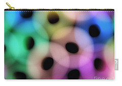A Rainbow Of Circles Carry-all Pouch