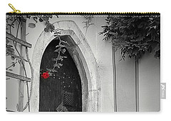 A Red Rose Welcome Carry-all Pouch