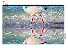 A Reflective Walk Carry-all Pouch by Betsy Knapp