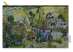 Carry-all Pouch featuring the painting A Replica Of A Painting  Of Van Gogh by Pemaro